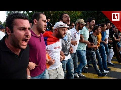 Митинг перерос в столкновения с полицией