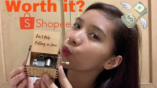 Gambar cover MUSIC BOX from SHOPEE! | Unboxing and Review | Can't help falling in love | Philippines | Kaye M.