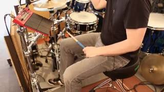 Gavin Harrison plays the Nord Drum 3P