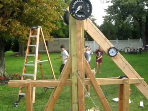 how to build a pumpkin catapult
