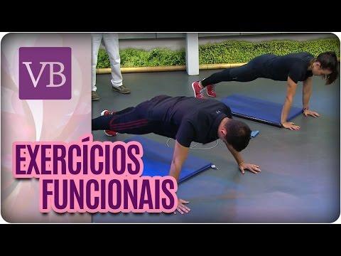 Exercícios funcionais para fazer em casa - Você Bonita (26/07/16)