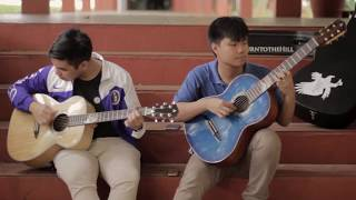 Ateneo Hymn ( A Song for Mary) on the Blue Eagle Guitar