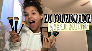 my SiMPLE NATURAL no FOUNDATiON makeup routine