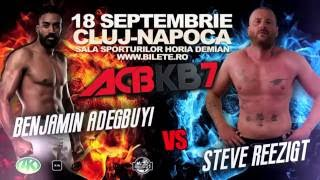 The Clash of Mountains | #BennyVReezigt | September 18 | Cluj-Napoca, Romania