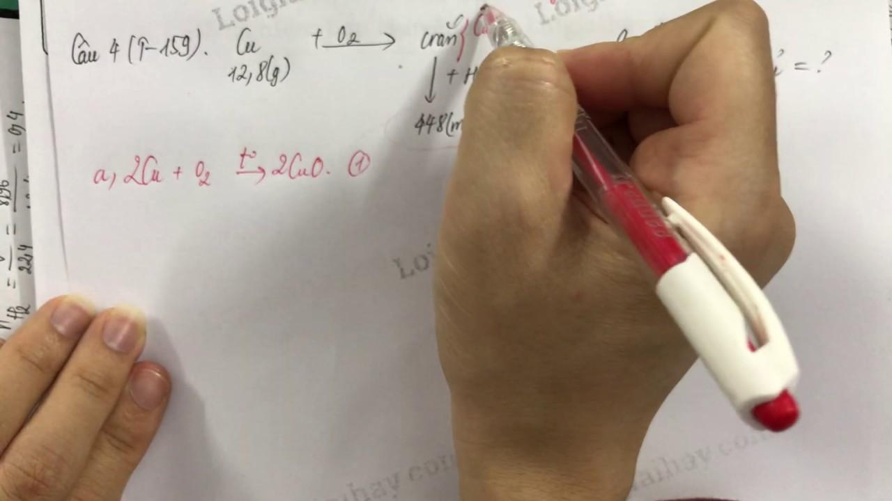 Giải bài 4 trang 159 SGK Hóa học 12