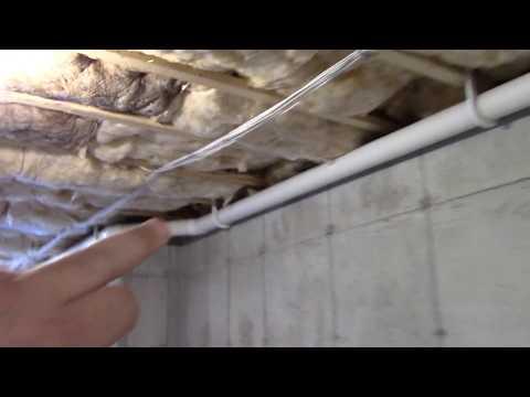 Basement Radon Reduction System Updates.