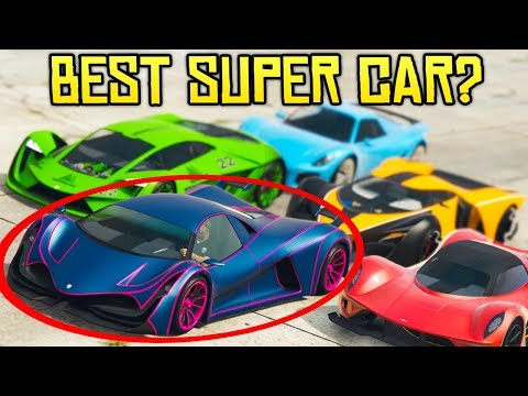 "GTA Online THE BEST NEW SUPER CAR!? Principe ""Deveste Eight"" Supercar Review"