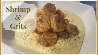 How to Make Shrimp & Grits  For Beginners!!