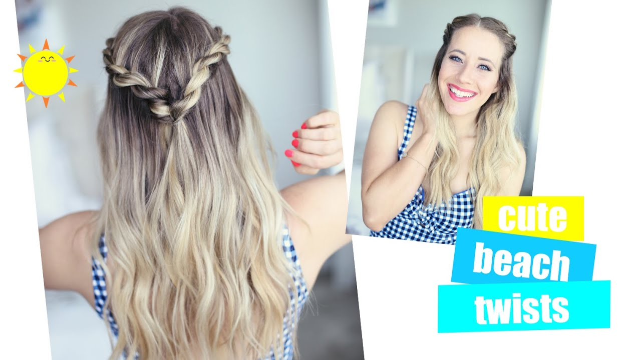 cute summer twists | beach hairstyle