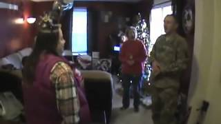 Soldier Surprises His Entire Family One-by-One