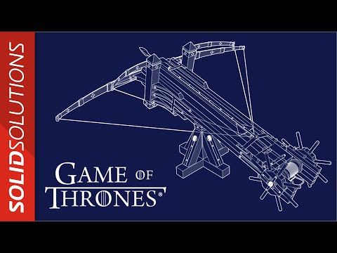 Game of Thrones - How could Qyburn have designed the Scorpion ballista? (Tutorial)