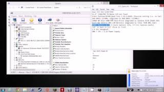 Acer E11 ES1-111M-P2YU Overview on Windows Desktop