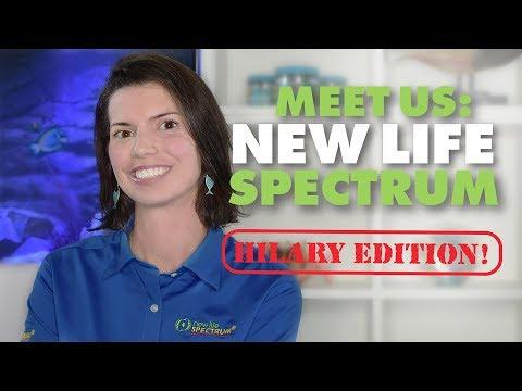 Meet Hilary! (New Life Spectrum Premium Fish Food)