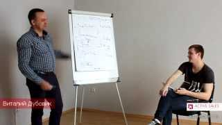 Видео уроки продаж | тренинг продаж от Виталия Дубовика