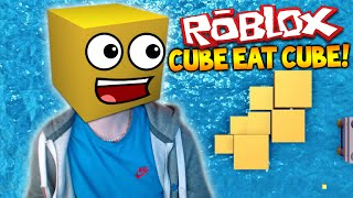 AGARIO IN ROBLOX! - CUBE EAT CUBE ROBLOX - ESSEN ALLE ANDEREN CUBES! (Roblox Xbox)