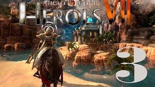 Прохождение Might and Magic Heroes 7 (БЕТА) #3 - Подземелье