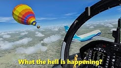 Things That Happen at 10,000 feet in Flight Simulator X (Multiplayer)