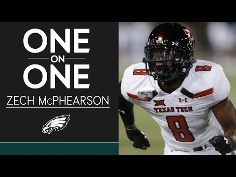 Get to Know Fourth-Round Pick Zech McPhearson | Eagles One-On-One
