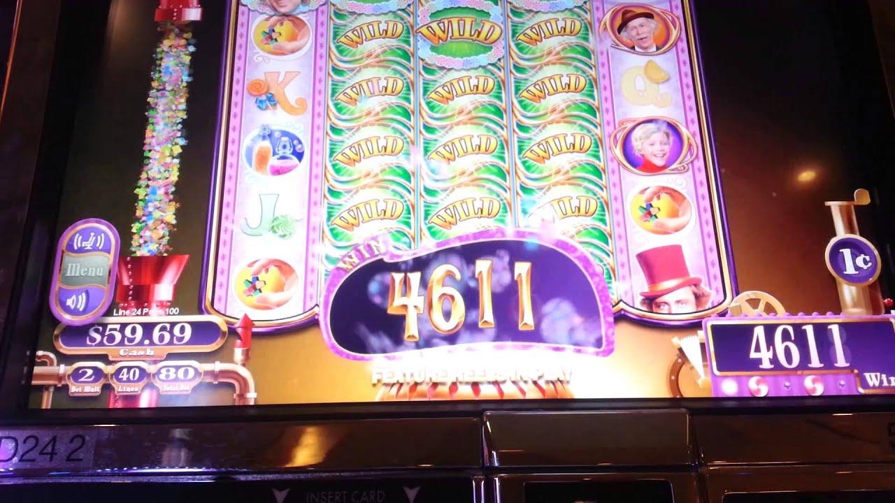 Willy Wonka Slot Machine Oompa Loompa Bonus Youtube