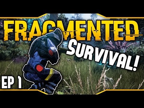 Fragmented ➤New Survival Game! - First Impressions [Let's Play Fragmented Gameplay][Ep 1]