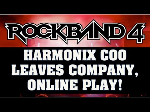 Harmonix COO Leaves Company, RB4 Online Playa & Dance Central Entitlement Update!