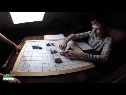 LEGO настольная игра танки Читерский бой
