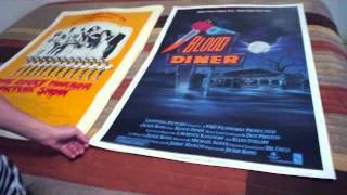 One Sheet Poster Collection part 1 featuring Blood Diner, Rocky Horror Picture Show