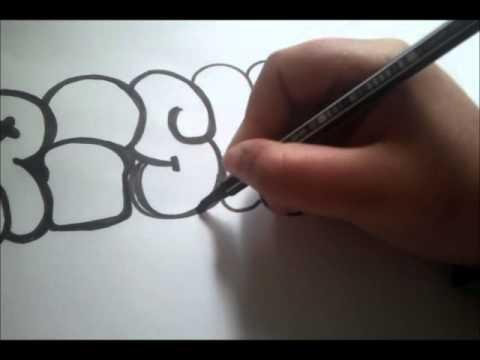 graffiti zeichnen risk youtube. Black Bedroom Furniture Sets. Home Design Ideas