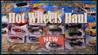 Huge Hot Wheels Car Truck Toy Haul 2018