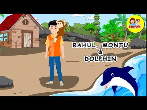 Rahul Montu And The Dolphin | Moral Stories For Kids | Bedtime Stories