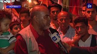 الأجواء في شارع الحمام في السلط استعداداً لاستقبال عيد الأضحى المبارك - (30-8-2017)