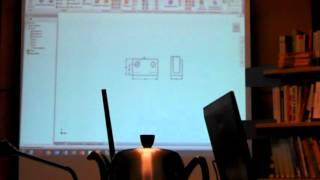 05.  Inventor - Создание 3д модели по 2д видам из AutoCad
