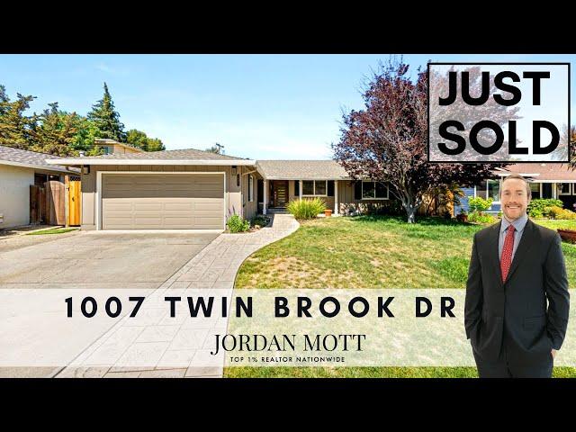Just Sold in San Jose   1007 Twin Brook Drive, San Jose CA 95126   Jordan Mott