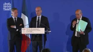 Discours de Jean-Michel Blanquer lors des annonces du plan de développement de l'EFE