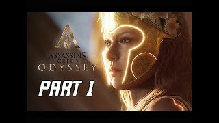 ASSASSIN'S CREED ODYSSEY The Fate of Atlantis Walkthrough Part 1 (Let's Play Commentary)