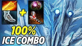 Wagamama 100% ICE COMBO Ancient Apparition Dota 2