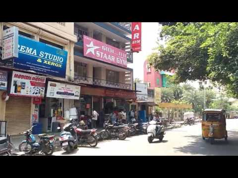 Ambika Mansion,  Staar Gym, Staar Food Court & Ambika Hot & Chill in Royapettah,  Chennai