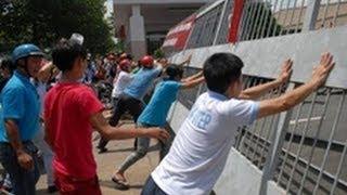 Công nhân ở Bình Dương biểu tình chống Trung Quốc
