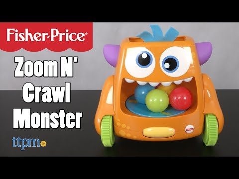 Zoom N Crawl Monster - Baby Activity Toys Review | Fisher-Price Toys