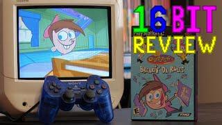 Fairly Odd Parents Breakin Da Rules Review; 16 Bit Game Review