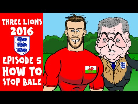 How to Stop Gareth Bale! Three Lions: 2016, EPISODE 5! (England vs Wales Preview Euro 2016)