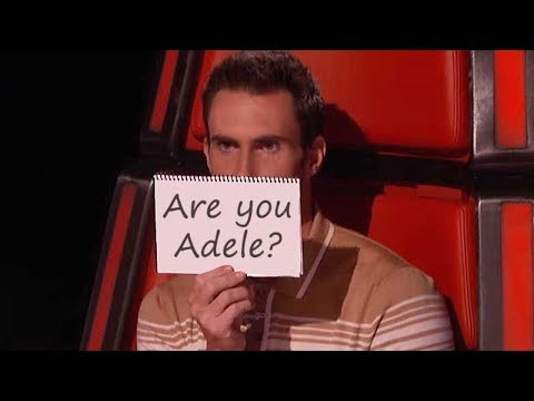 Best Adele Songs In THE VOICE , X FACTOR , GOT TALENT