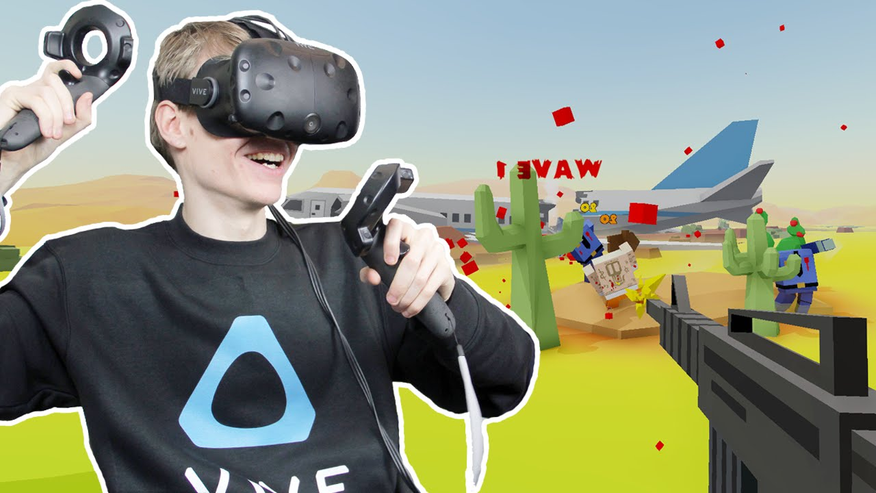 BLOODY VR ZOMBIE GAME! | 69 Ways to Kill a Zombie (HTC Vive Gameplay)