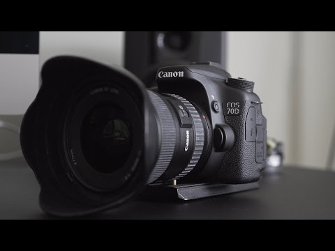 Best settings for Audio and Video - Canon 70D & 80D