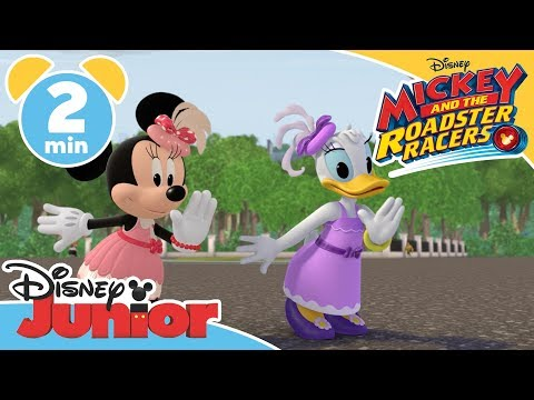 Mickey and the Roadster Racers | We'll Just dance Music Video | Disney Junior UK