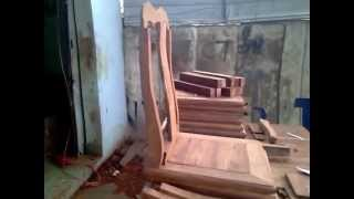 003 Kitchen Chair Building Process By Halong Wood Products Step By Step Part 3 For Teak Wood
