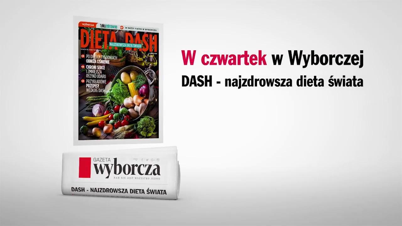 DASH – najzdrowsza dieta świata