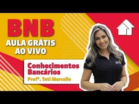 BNB | Aula Grátis | Foco em Conhecimentos Bancários  | AO VIVO | 30/10