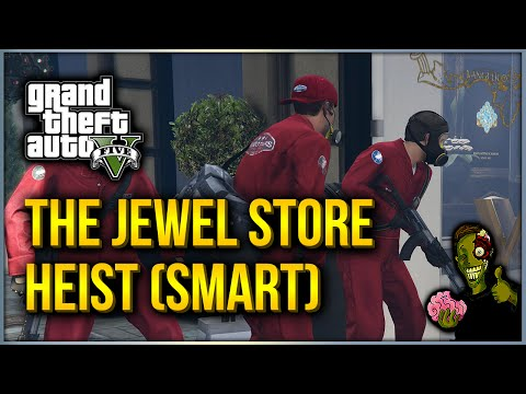 GTA V - Jewel Store Heist Completed - Gold Medal