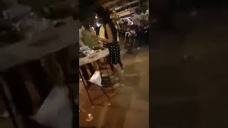 Kalyan railway station drunk girl full hungama